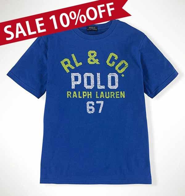 """画像1: ★メール便送料無料★【ラルフローレン】""""RL& Co""""半袖 Tシャツ<3T-SIZE5>"""