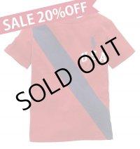 ★メール便送料無料★【ラルフローレン】ビッグポニーUSAバナー半袖Tシャツ(レッド)<2T>