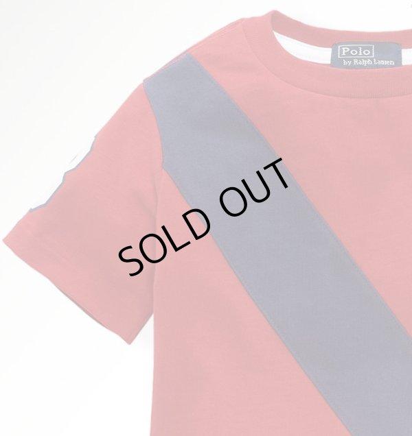 画像4: ★メール便送料無料★【ラルフローレン】ビッグポニーUSAバナー半袖Tシャツ(レッド)<2T>
