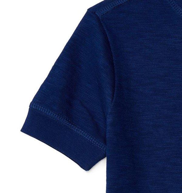 画像3: ★メール便無料★【ラルフローレン】コットンヘンリー半袖Tシャツ(ネイビー)<SIZE5-7>