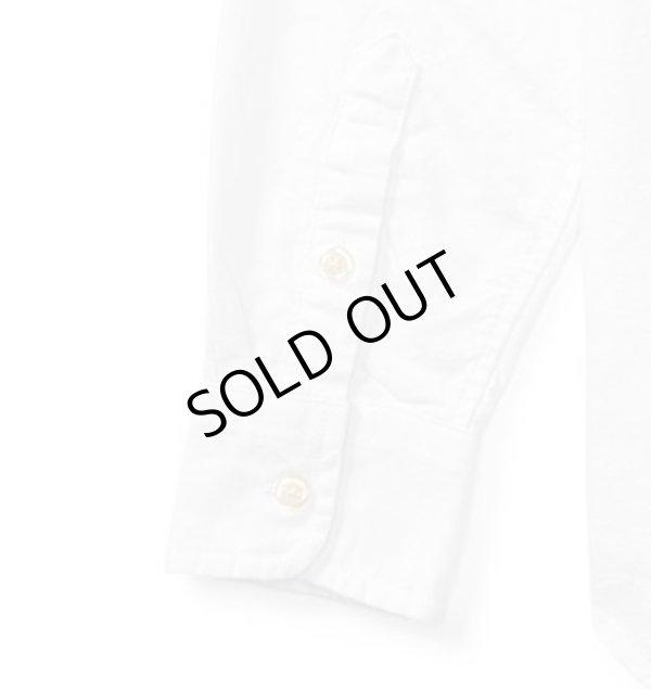 画像5: 【ラルフローレン】長袖コットンオックスフォードシャツ(オフホワイト)<S-XL>