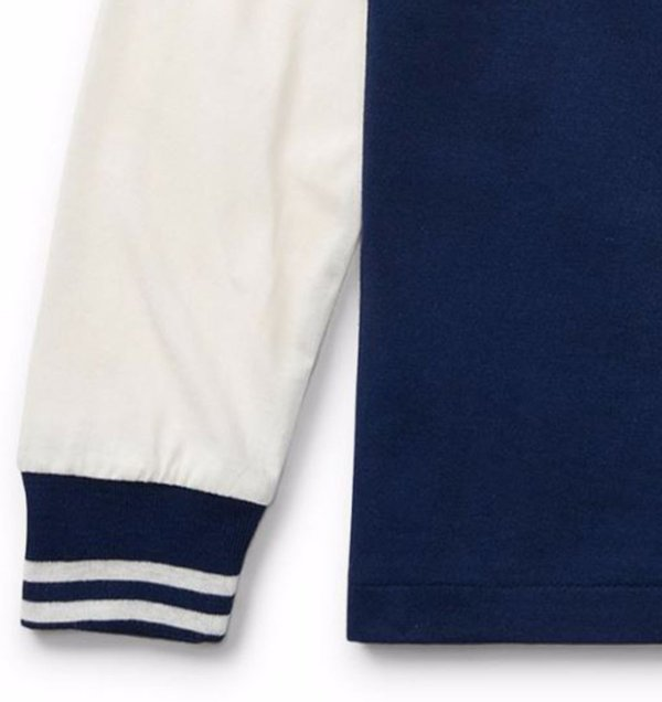 画像3: ★メール便無料★【ラルフローレン】長袖コットンPOLOTシャツ(ネイビー)<2T-SIZE7>
