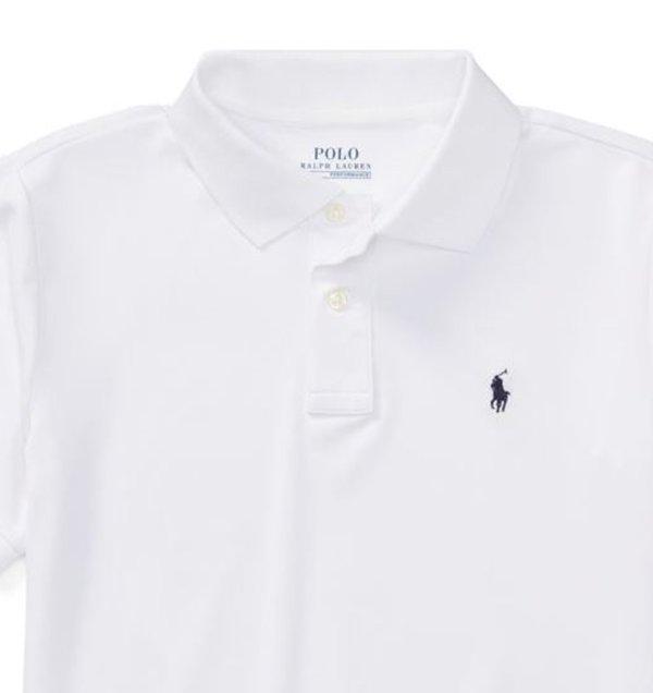 画像2: ★メール便無料★【ラルフローレン】半袖パフォーマンスジャージーポロシャツ(ホワイト)<S-XL>