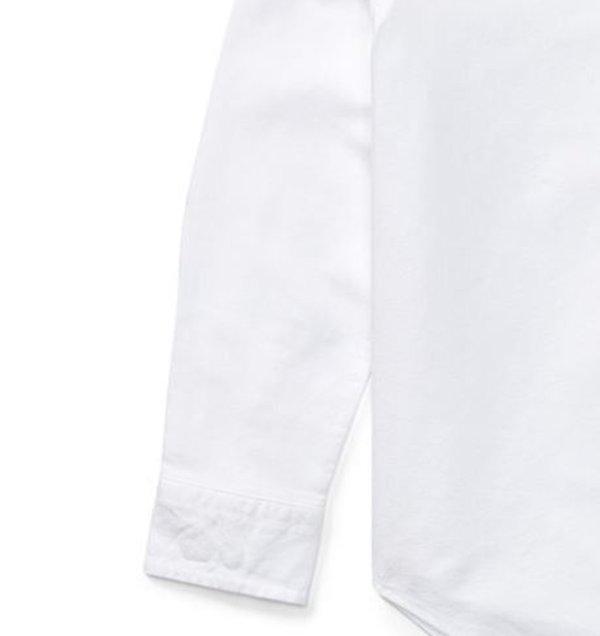 画像3: 【ラルフローレン】長袖マルチコットンオックスフォードスポーツシャツ(オフホワイト)<SIZE5-7>