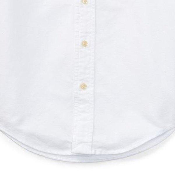 画像4: 【ラルフローレン】長袖マルチコットンオックスフォードスポーツシャツ(オフホワイト)<SIZE5-7>