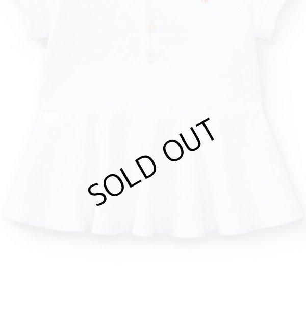 画像4: ★メール便無料★【ラルフローレン】コットンメッシュポロシャツ(ホワイト)<12-24カ月>