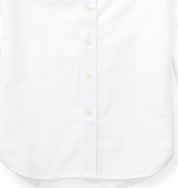 画像3: 【ラルフローレン】長袖ビッグポニーストライプドコットンオックスフォードシャツ(ホワイト)<S-XL>