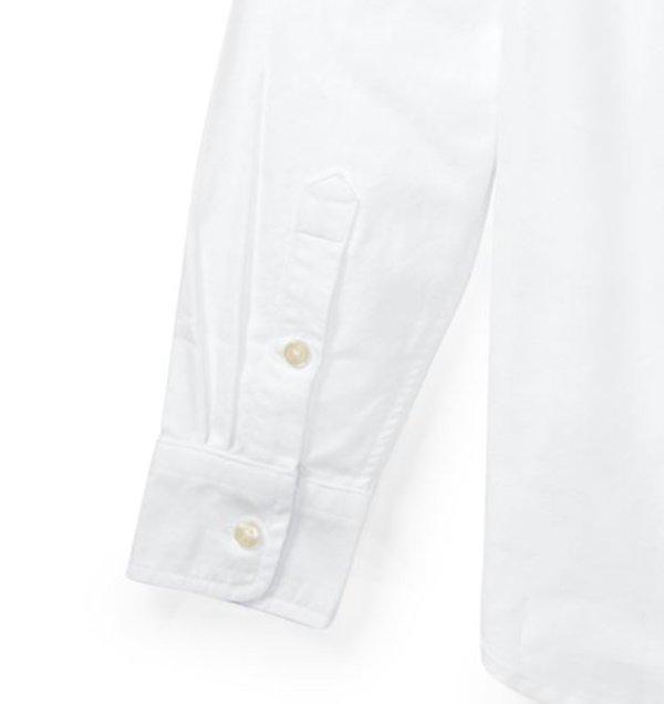 画像5: 【ラルフローレン】長袖ビッグポニーストライプドコットンオックスフォードシャツ(ホワイト)<S-XL>