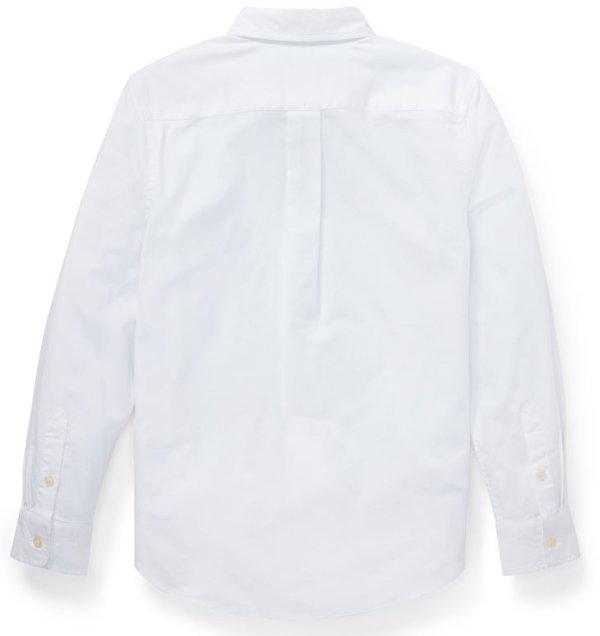画像4: 【ラルフローレン】長袖パフォーマンスオックスフォードシャツ(ホワイト)<S-XL>