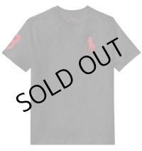 ★メール便無料★【ラルフローレン】半袖ビッグポニーコットンTシャツ(ブラック)<S-XL>