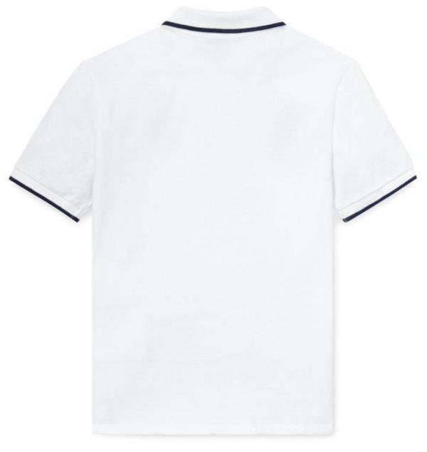 画像4: ★メール便無料★【ラルフローレン】半袖フェザーウェイトコットンメッシュポロシャツ(ホワイト)<S-XL>