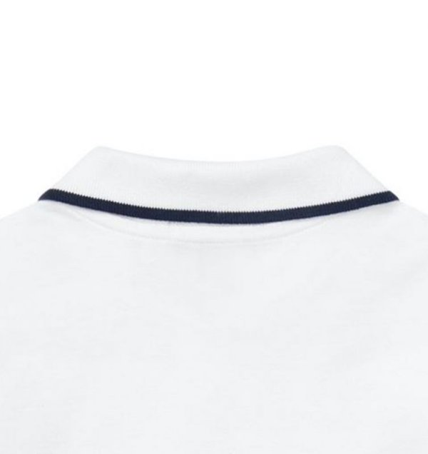 画像5: ★メール便無料★【ラルフローレン】半袖フェザーウェイトコットンメッシュポロシャツ(ホワイト)<S-XL>